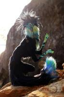 Black Opal Diki Spirit Room Guardian by AnyaBoz