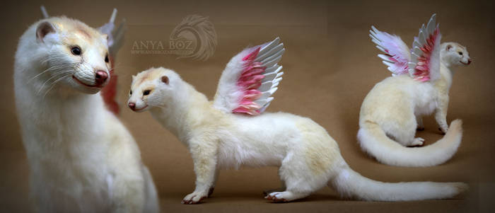 Winged Mink Room Guardian by AnyaBoz