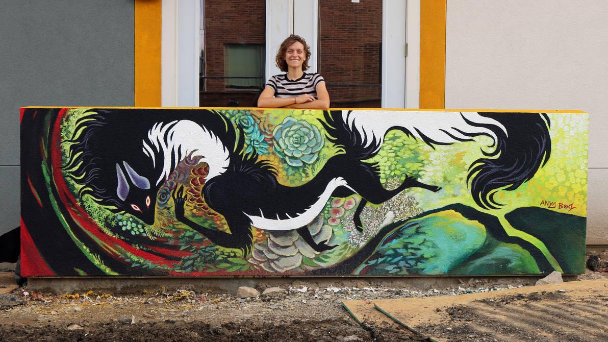 Mag and May Mural by AnyaBoz