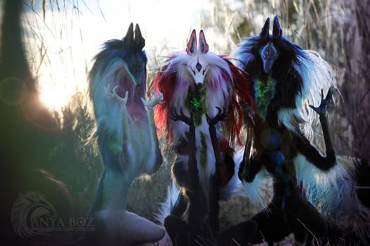 Paradise Diki Spirits by AnyaBoz