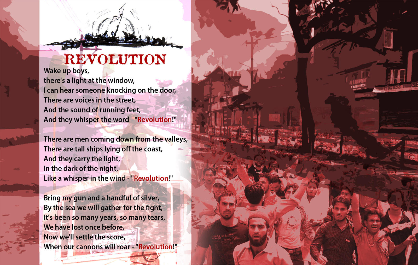 KASHMIR REVOLUTION by krishsajid