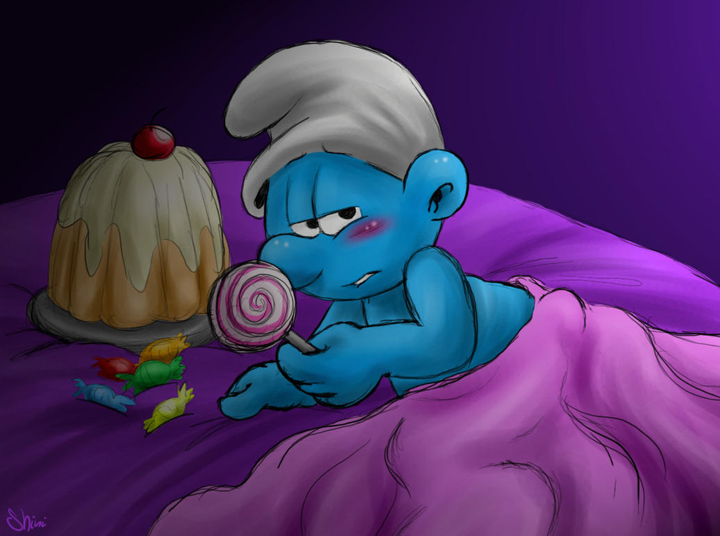 I might not be the smurfiest... by Shini-Smurf on DeviantArt
