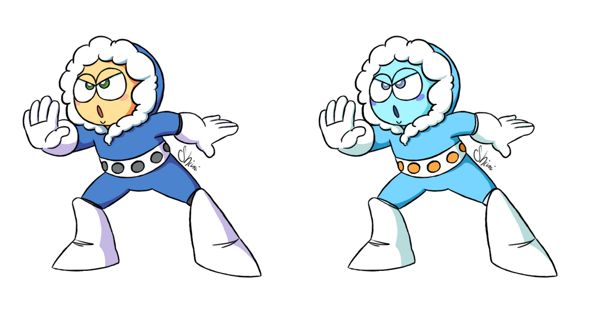 Ice Man - Captain N colors by Shini-Smurf