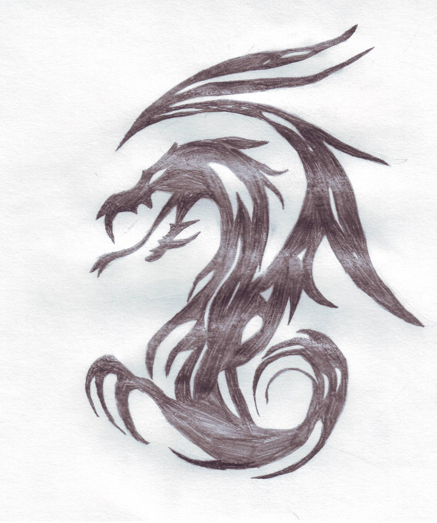 Tribal Dragon by