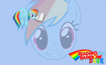Reading with Rainbow Dash