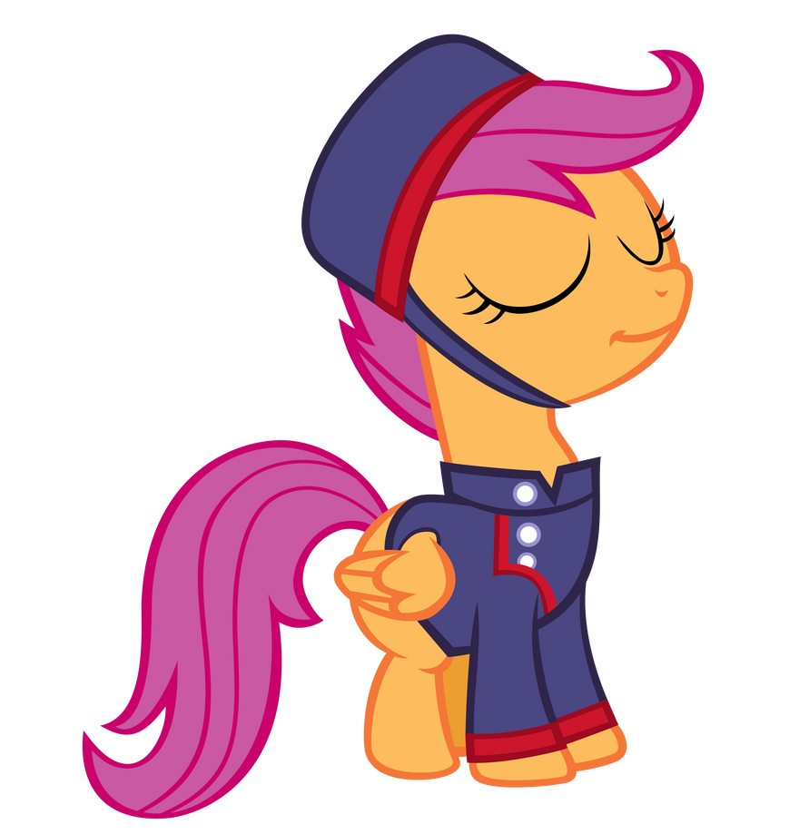 Scootaloo the Courier by Orschmann