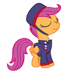 Scootaloo the Courier