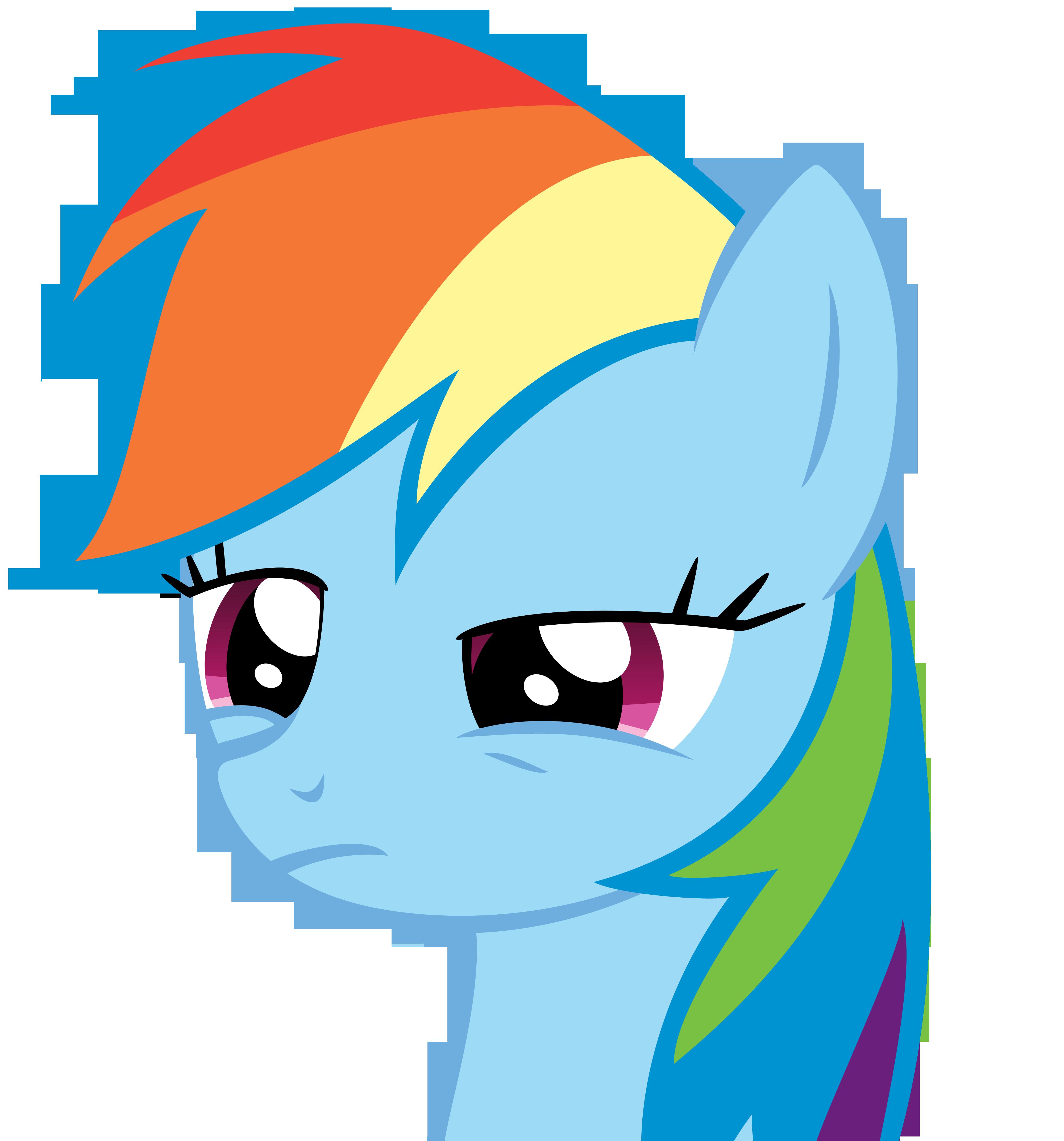 Rainbow Dash - Dude...what?