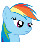 Rainbow Dash just doesn't care
