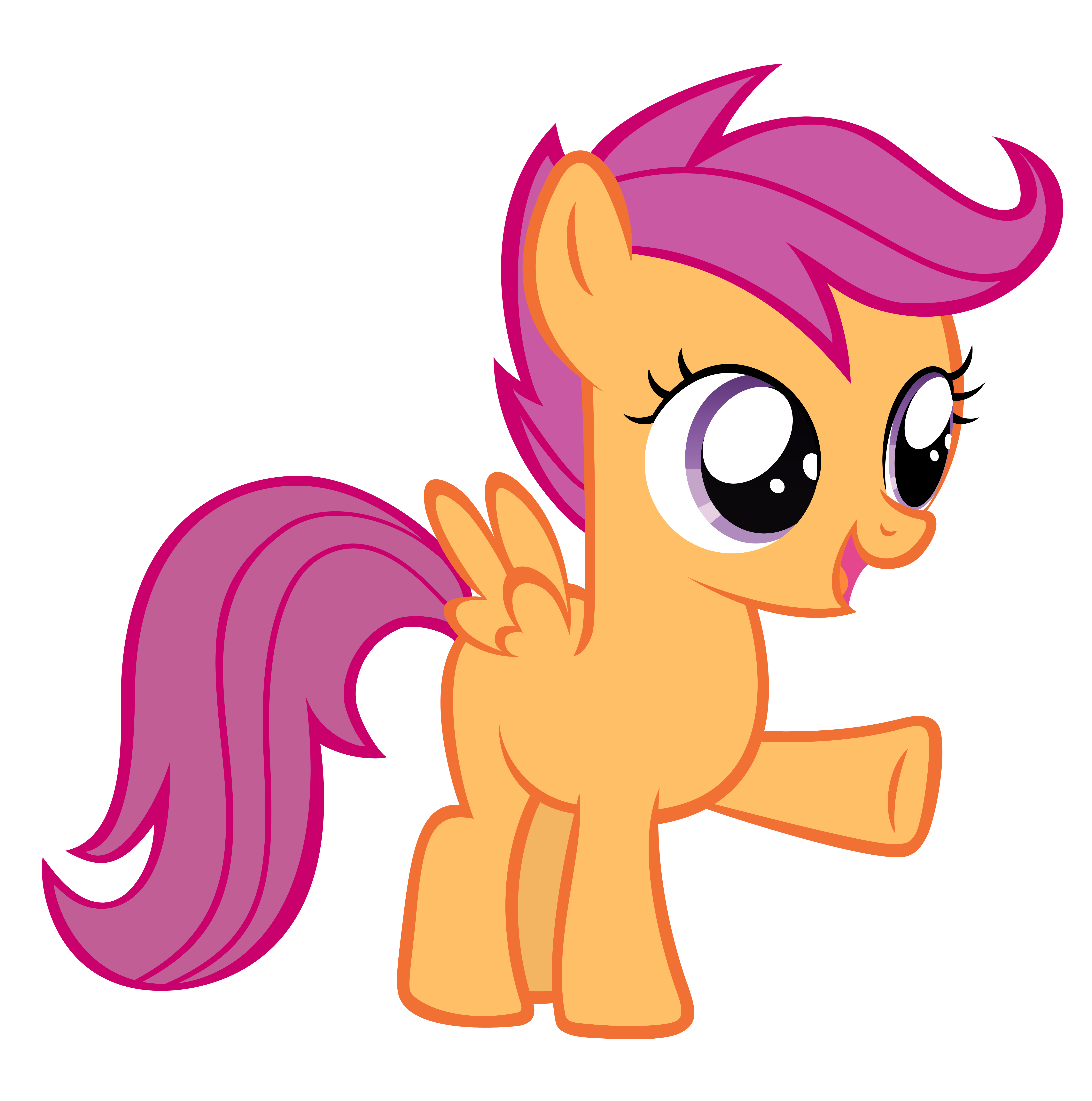 Scootaloo wants you out