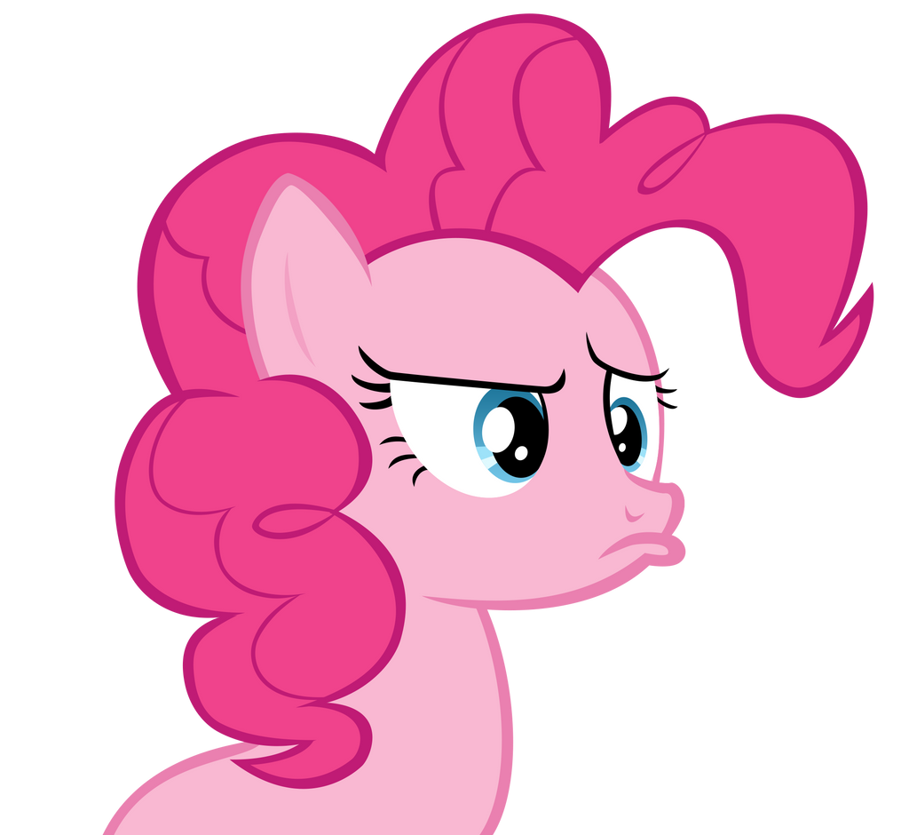 Pinkie is confused and upset by Orschmann