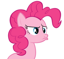 Pinkie is confused and upset