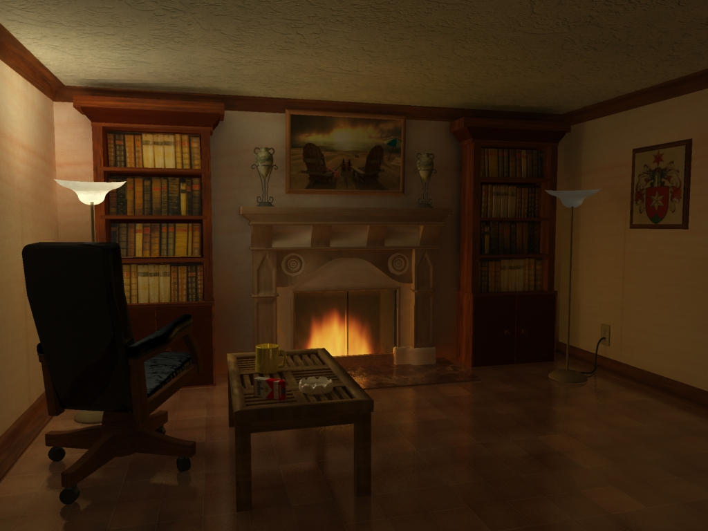 Cozy Fireplace by musth