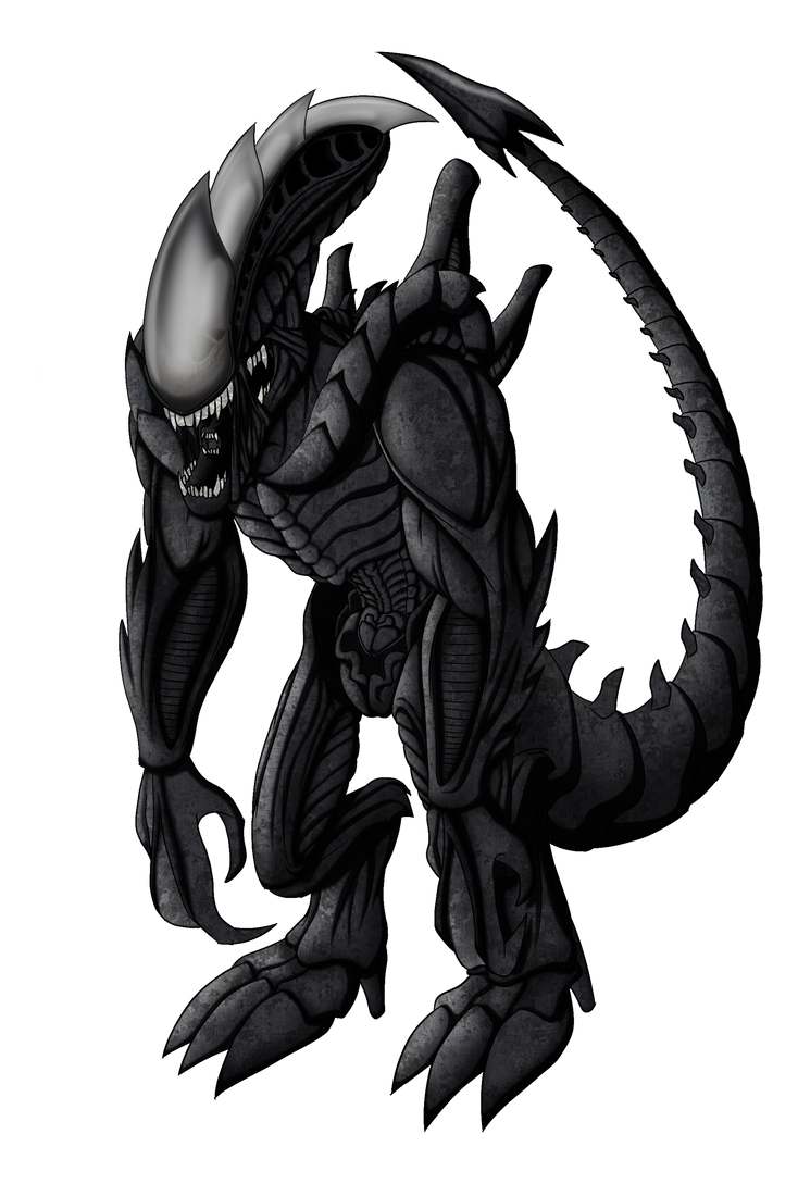 [Commission] Xenomorph Diremaw by DankoDeadZone