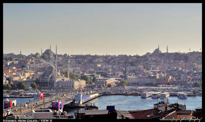 Istanbul from Galata
