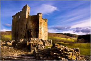 Edlingham Castle 2 by newcastlemale