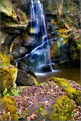 Roughting Waterfall 3 by newcastlemale