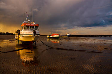 fishing Boats by newcastlemale