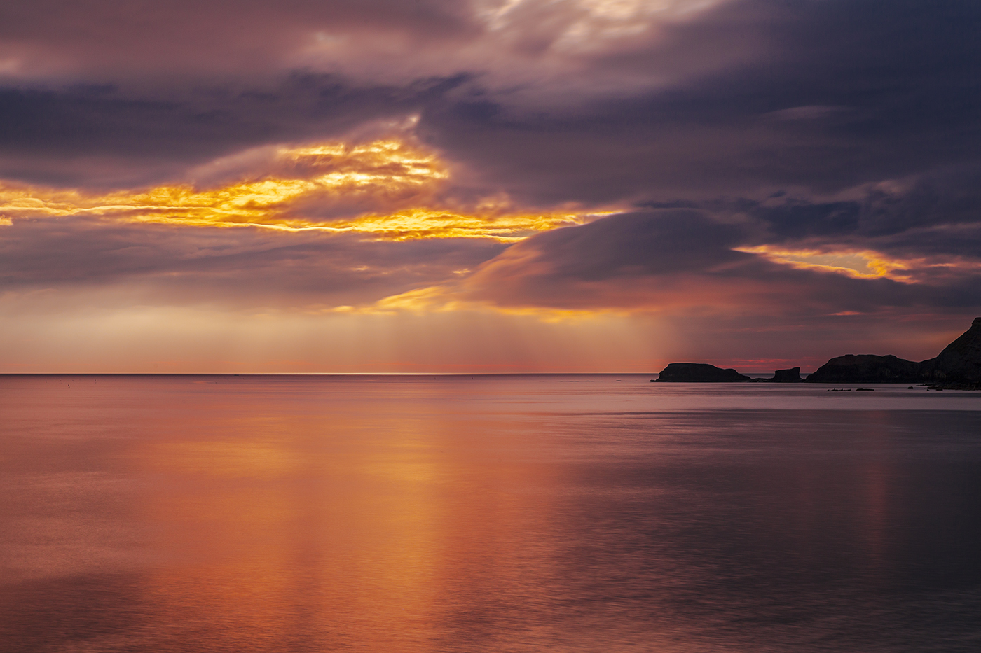 Whitby Sunrise by newcastlemale