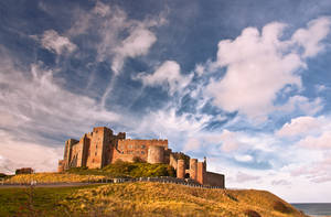Bamburgh Castle by newcastlemale