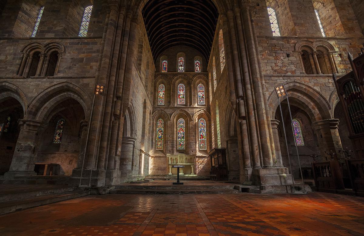 Brinkburn Priory by newcastlemale