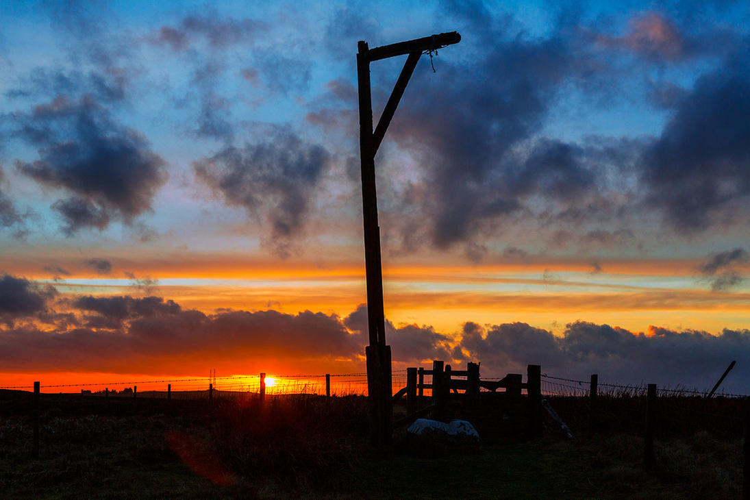 Winters Gibbet by newcastlemale