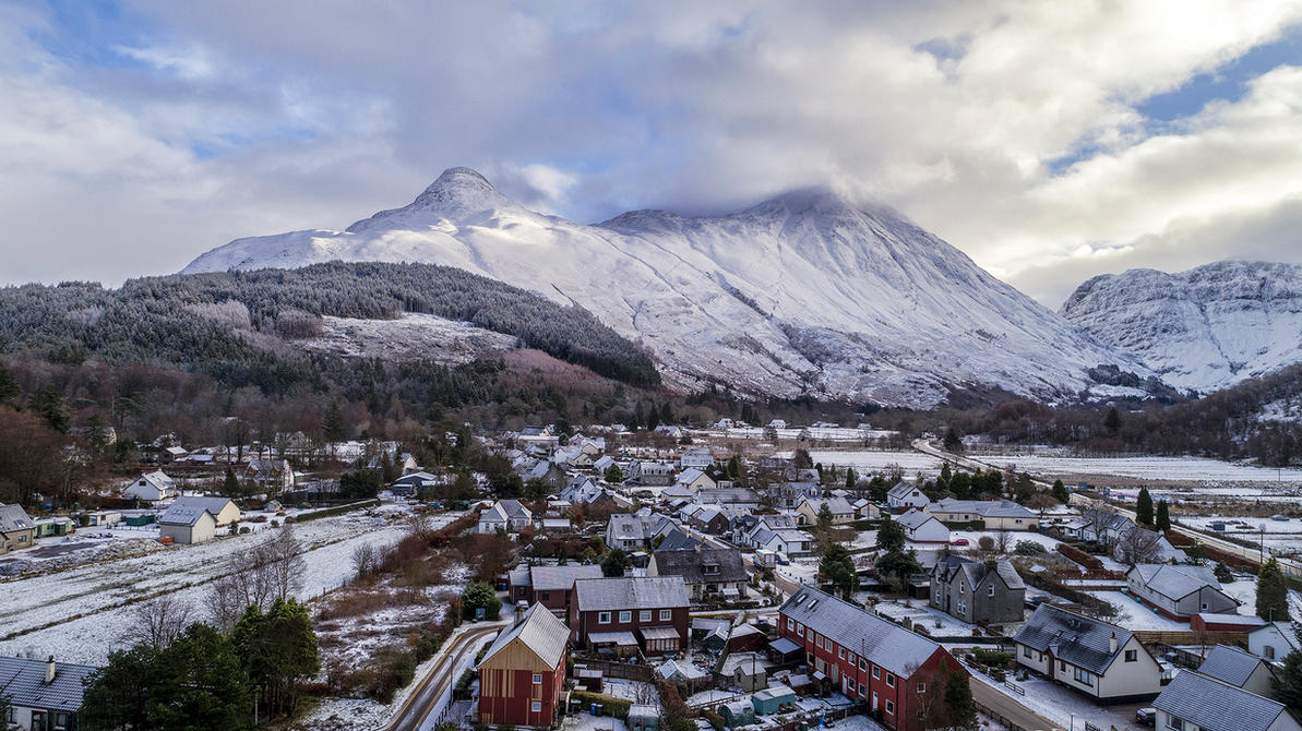 The Pap of Glencoe by newcastlemale