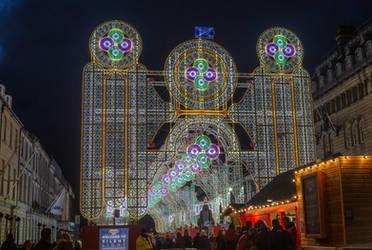 Edinburgh Christmas by newcastlemale