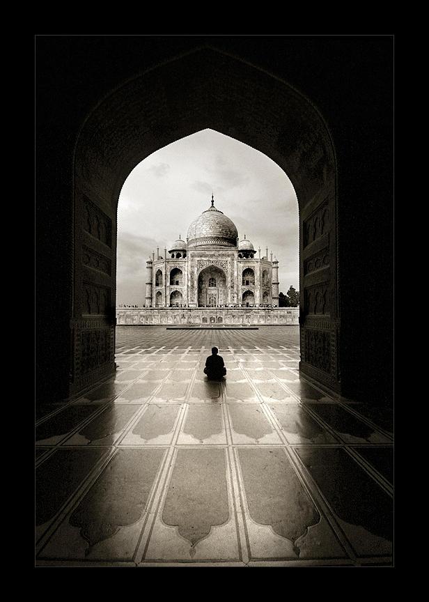 Solitude - Taj Mahal
