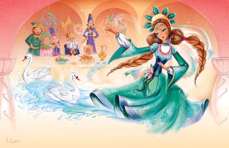 Russian fairy tale1 by LiLen