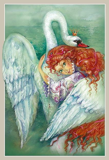 wild swans 3 by LiLen