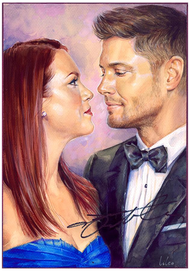 Jensen Ackles Danneel ...
