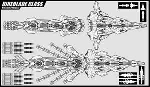 Direblade class Frigate