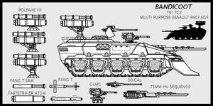 TR17C2 BANDICOOT