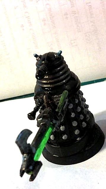 Dalek 40k Prototype by Lineartbob
