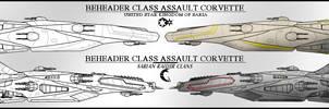 Beheader class Assault Corvette