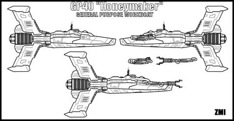 Honeymaker class Workboat by Evilonavich