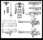 Shameless Space Combat Suit