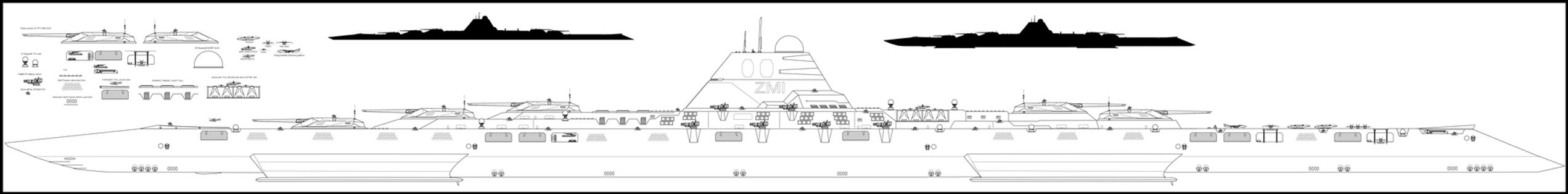 Gestalt class SuperDreadnought by Lineartbob