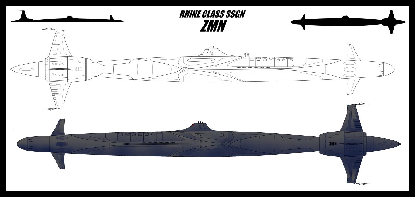 Rhine Class SSGN