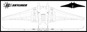 Skyliner lineart