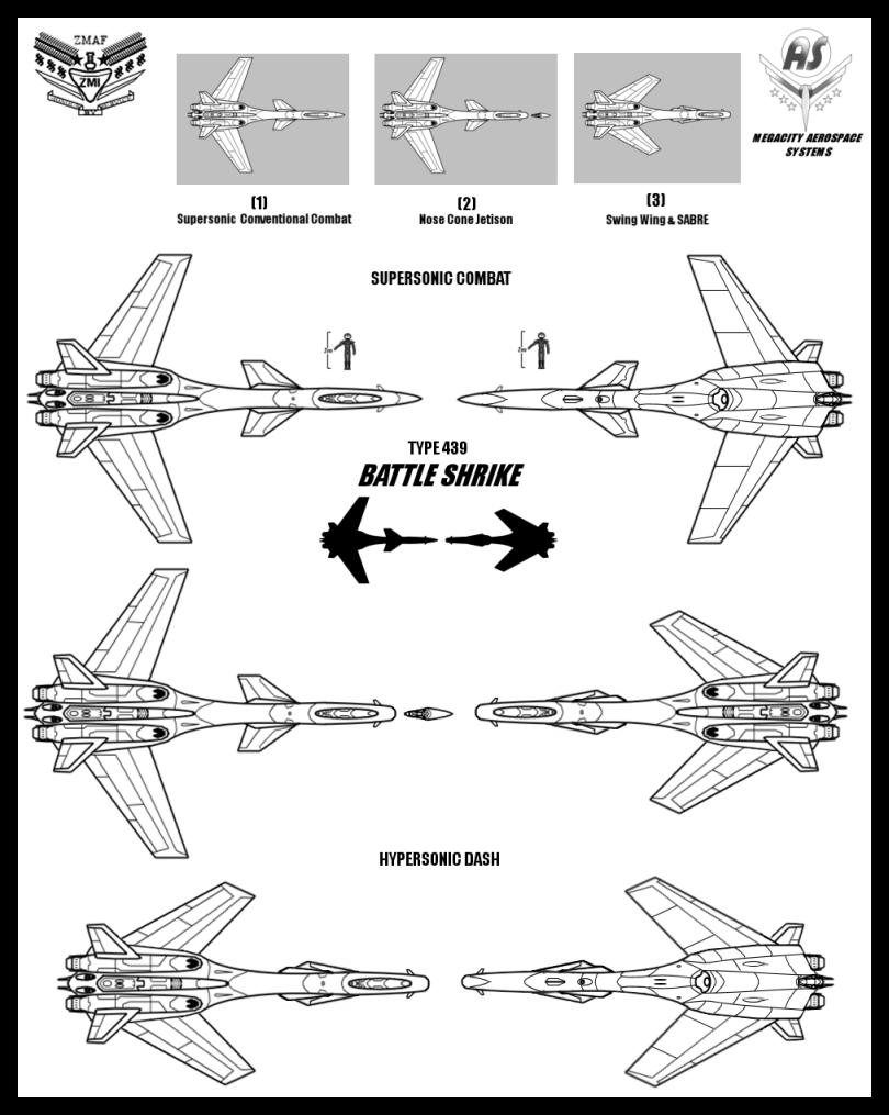 Battle Shrike by Lineartbob