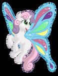 Sweetie Belle - Butterfly Wings