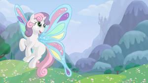 Sweetie Belle Butterfly - Desktop