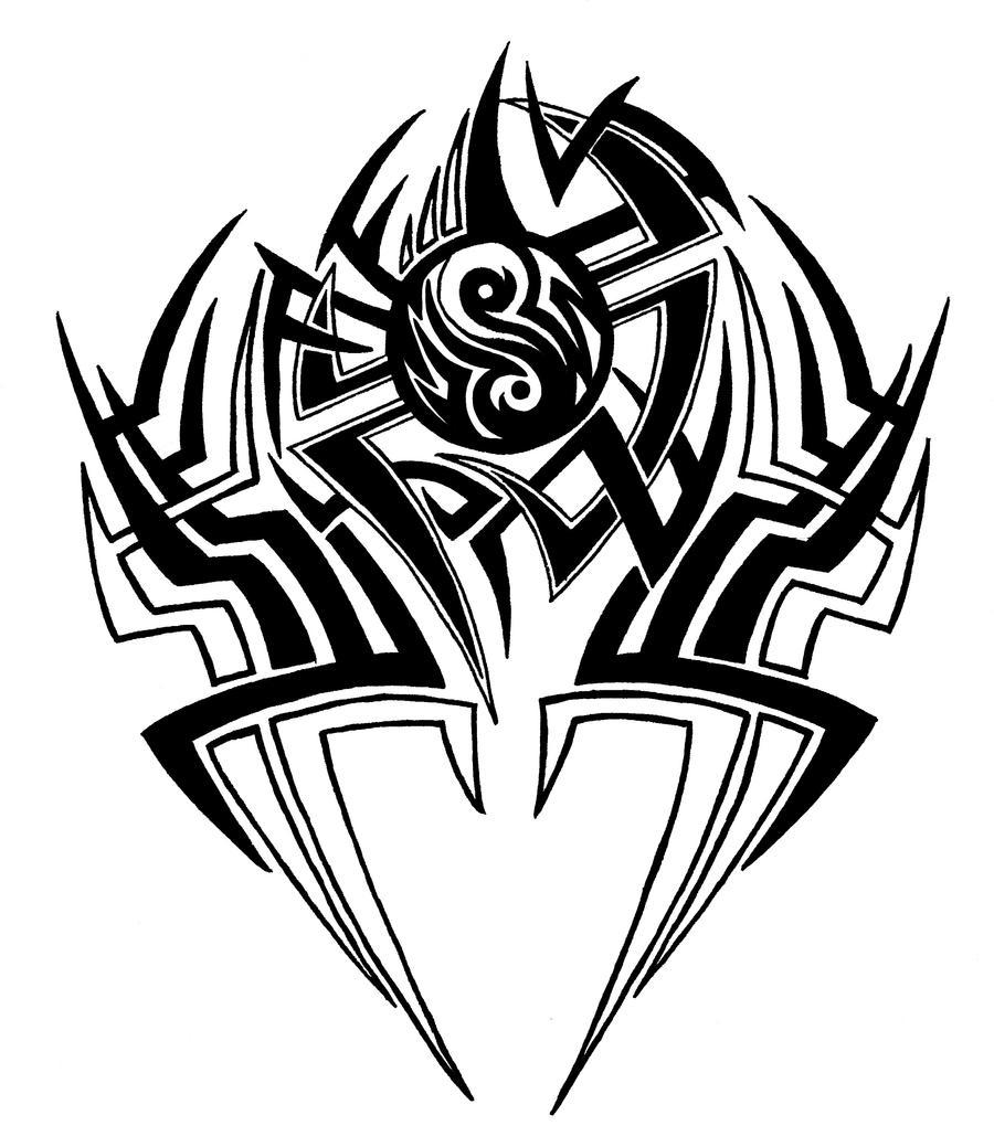 Tribal Tattoo Drawings
