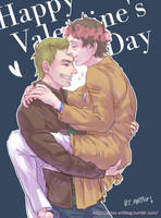 [SPN] Happy Valentine's Day by Ahtsu