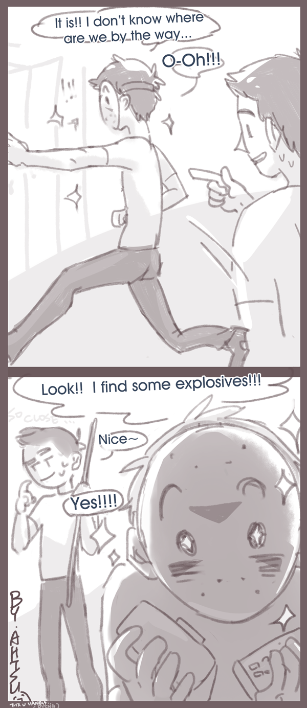 [H2OVanoss] Trindr? Grindr? 5/5 by Ahtsu on DeviantArt H20 Delirious Drawings
