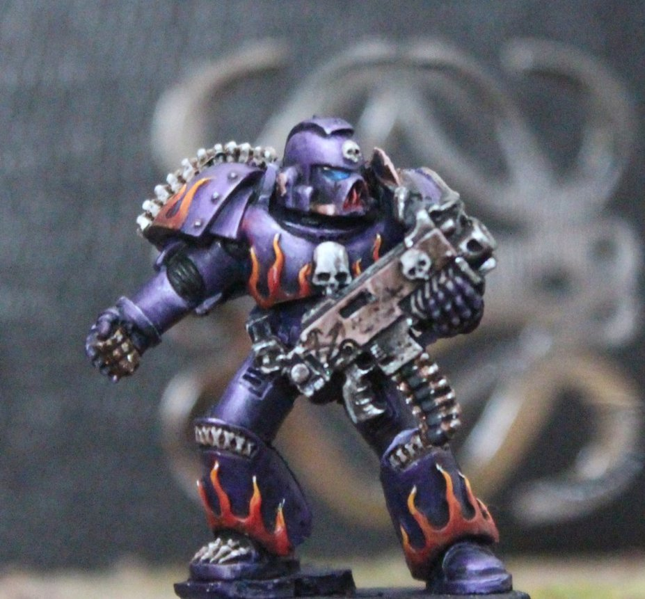 Extinction angels Chaos marine by Insuppressible