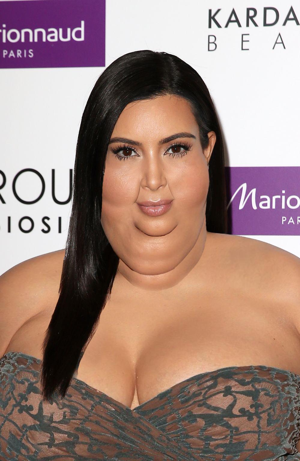 Kim Kardasian Fat 20