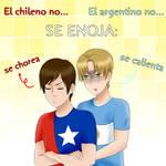 El chileno y el argentino no se enojan...